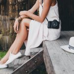 How to style a white dress from Ideal Ladies Wear Mount Forest
