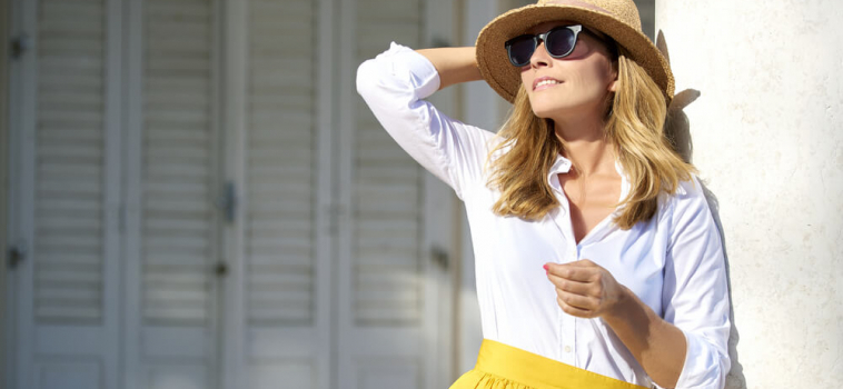 How to Dress in the Summer If You're Over 40